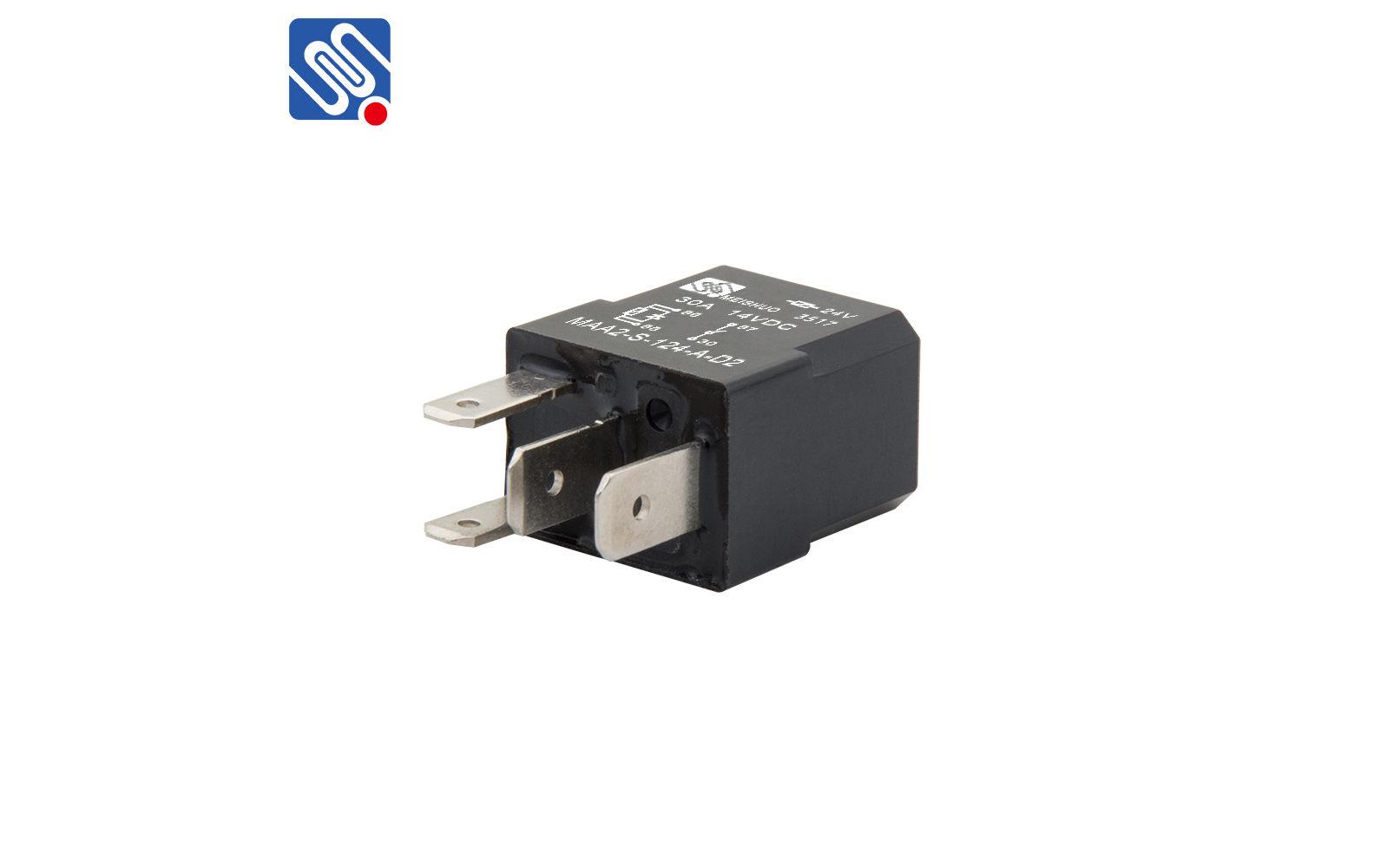 4 pin relay wiring diagram horn MAA2-S-124-A-D_Zhejiang ...