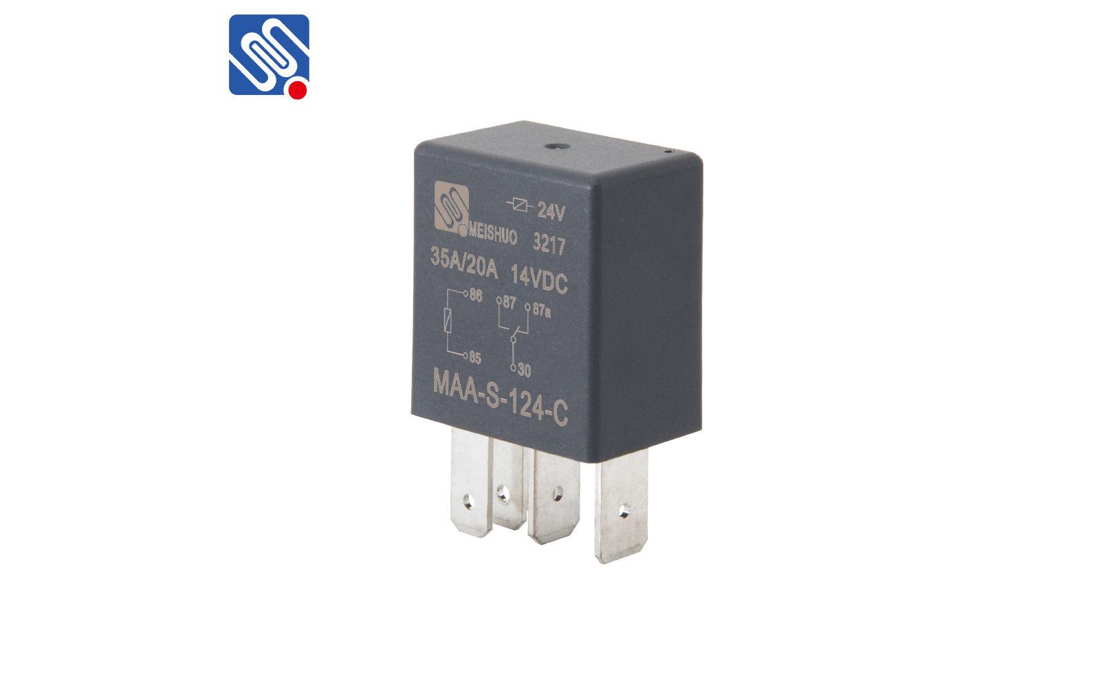 5 pin    micro    relay MAAS124C meishuoen
