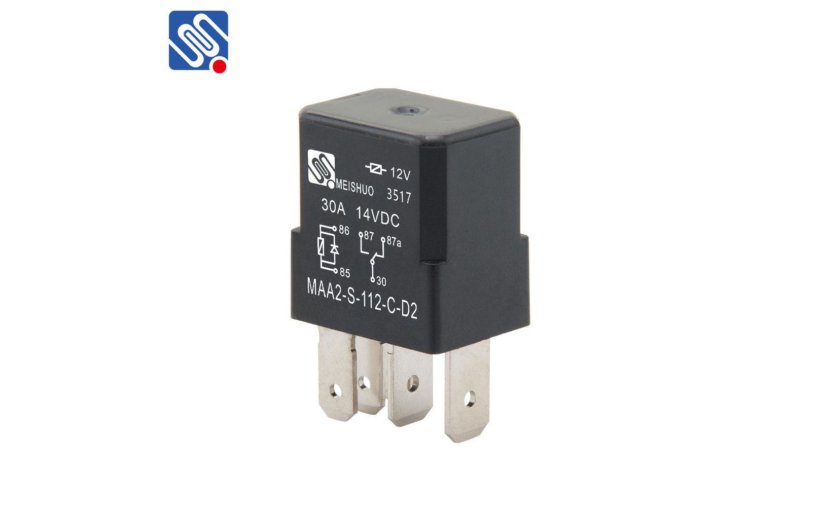 Automotive Relay Switch Maa2 S 112 C D Meishuoen Transistor 12v