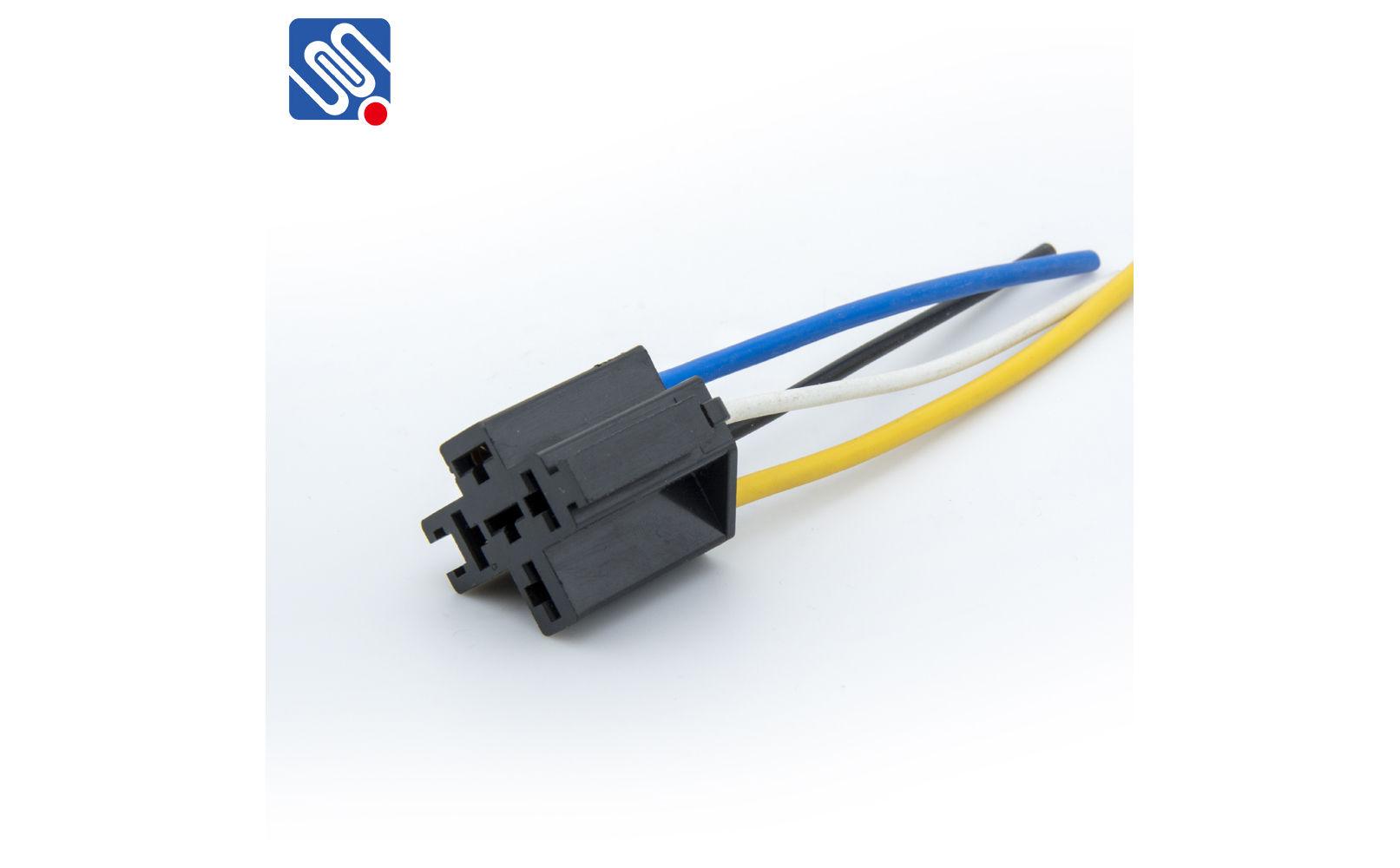 4 pin relay connector   MSCA  meishuoen
