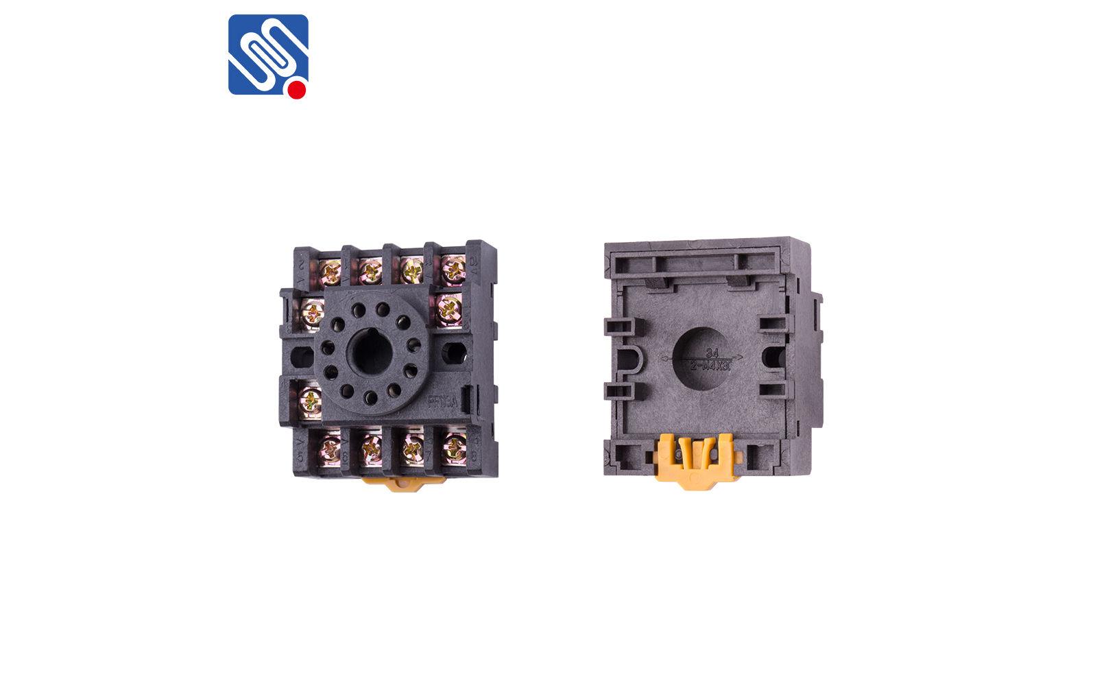 11 Pin Relay Socket Uff08pf113a   Zhejiang Meishuo Electric Technology Co  Ltd