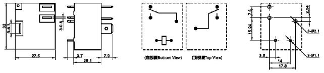 12 volt 30 amp relay MPQ4-S-112D-C_meishuoen