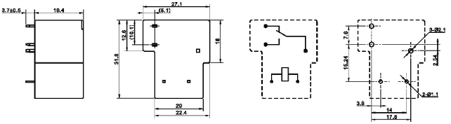 24 Volt Switching Relay Mpq1